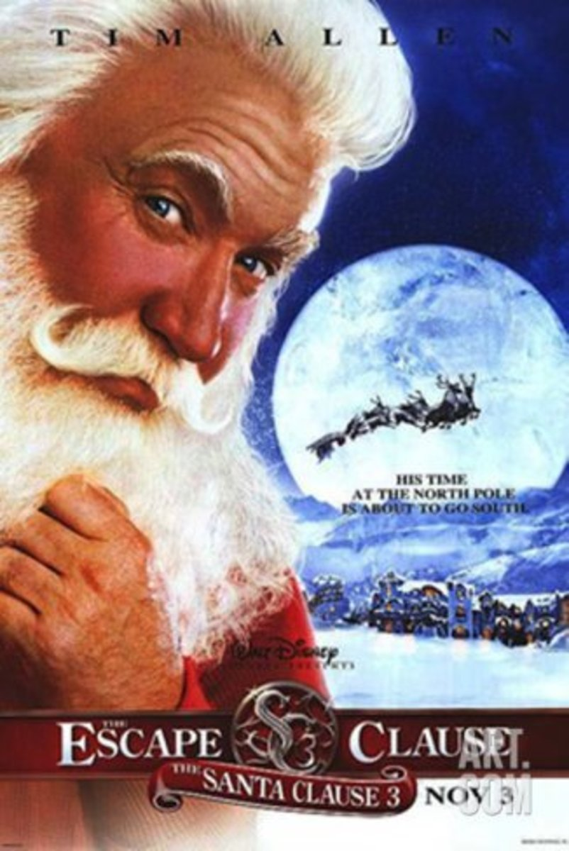 2003 The Santa Clause 3: The Escape Clause Starring: Tim Allen, Elizabeth Mitchell, Eric Lloyd, Judge Reinhold