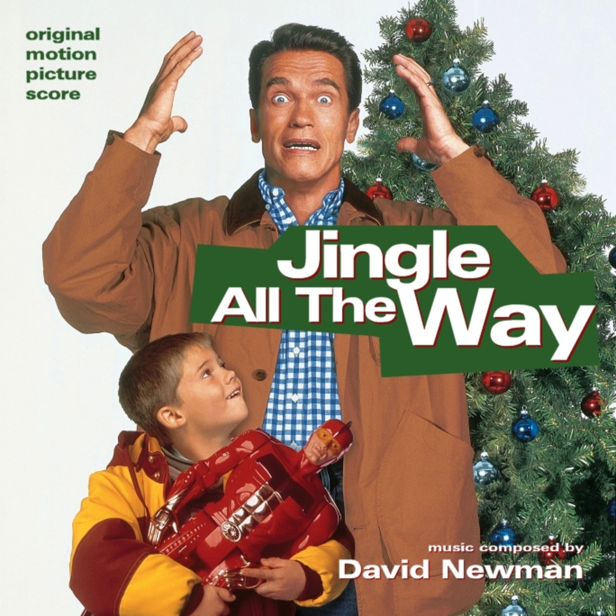 Jingle All The Way (1996); Starring: Arnold Schwarzenegger, Sinbad, Phil Hartman, & Rita Wilson