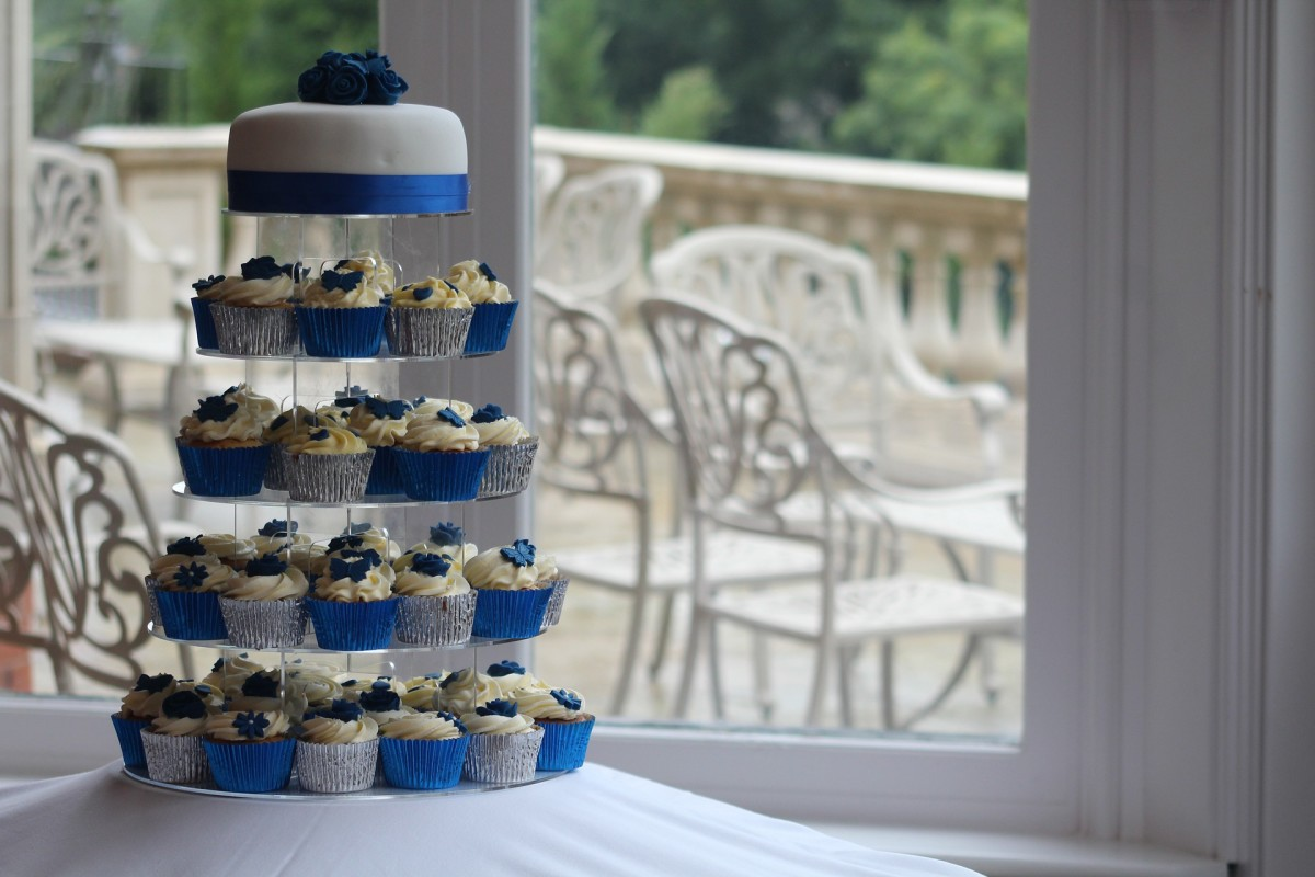 Wedding cupcakes tower.