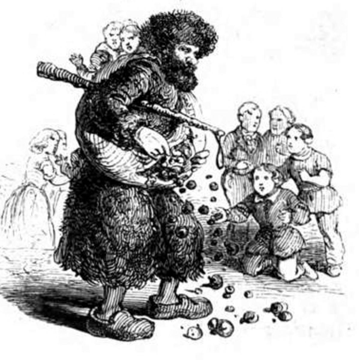 Knecht Ruprecht in 1863