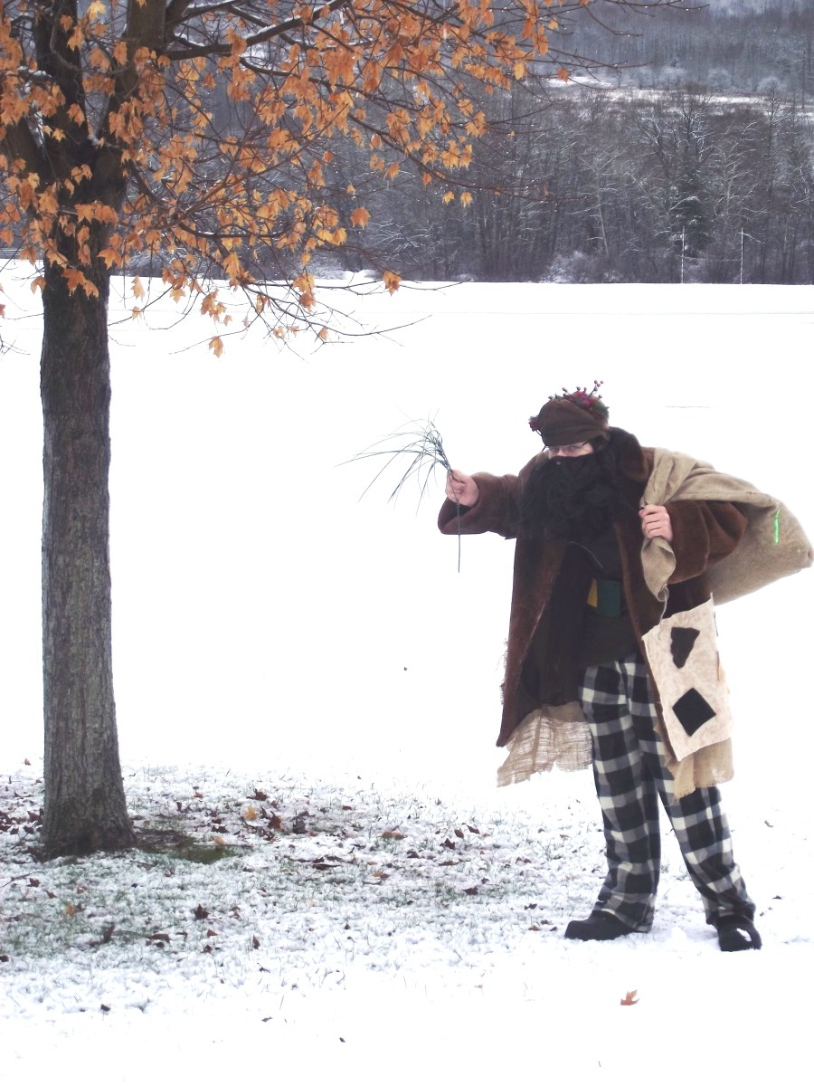 A modern day Belsnickel in 2012