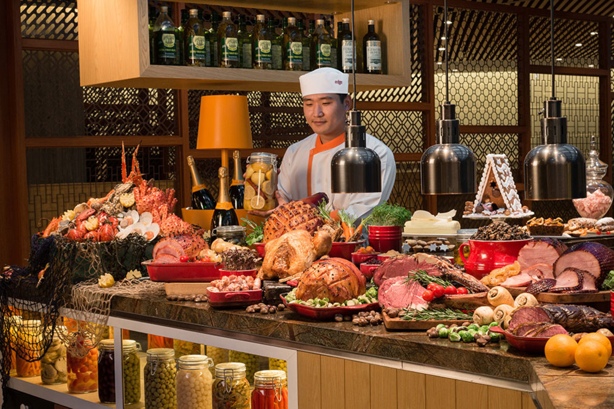 Christmas Buffets are somewhat of a tradition, and obsession, with Singaporeans. Numerous magazine articles are written about them yearly.