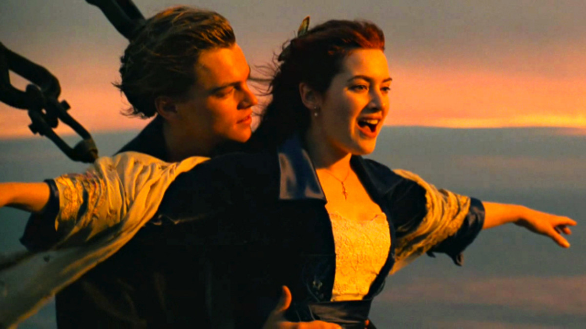 Scene from Titanic the movie
