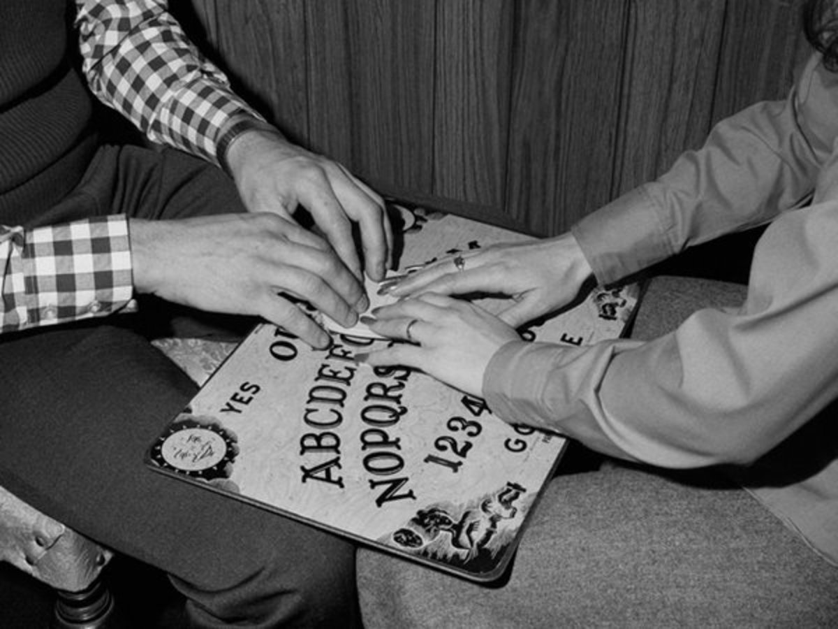 A Ouija board is a surefire means of getting a good scare.