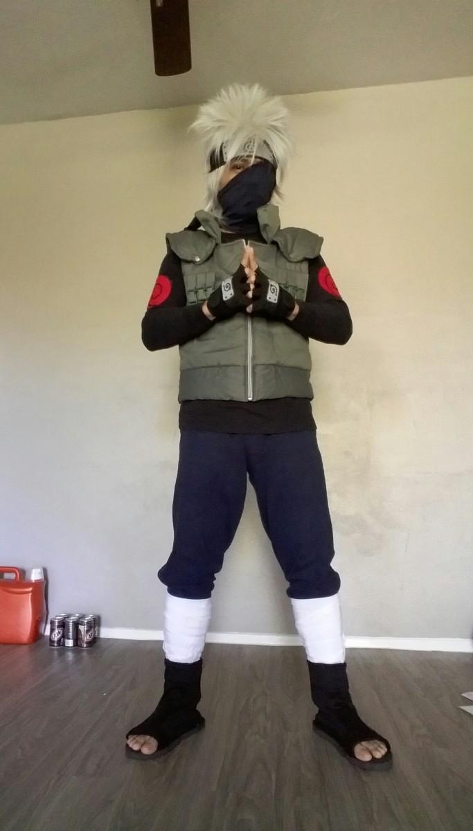 How to make naruto costumes