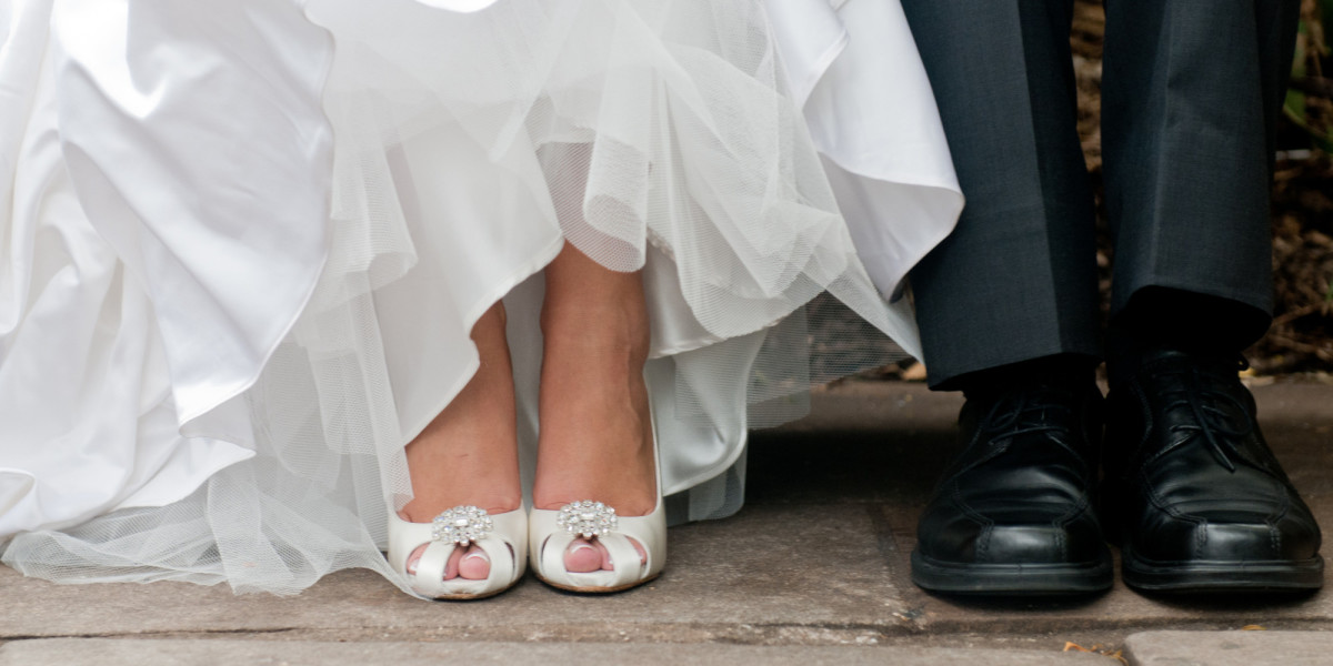 Make sure you practice in the shoes you plan to rock at your wedding.