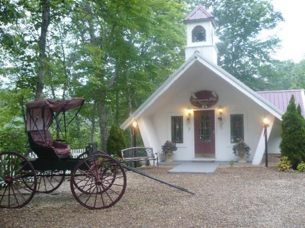 Chapel at Honeymoon Hills