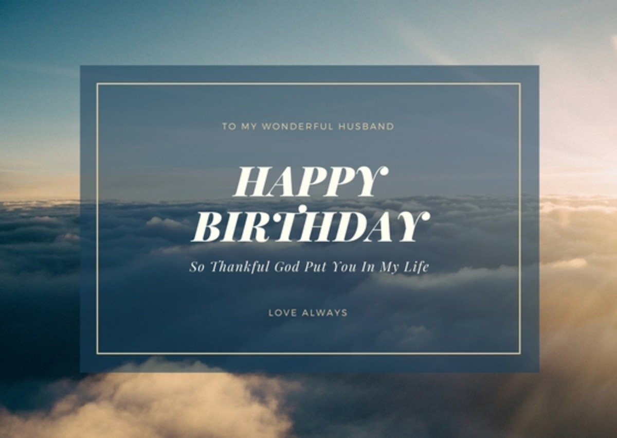 You can combine several of these messages with some personal anecdotes to create a unique and meaningful birthday card message for your man.