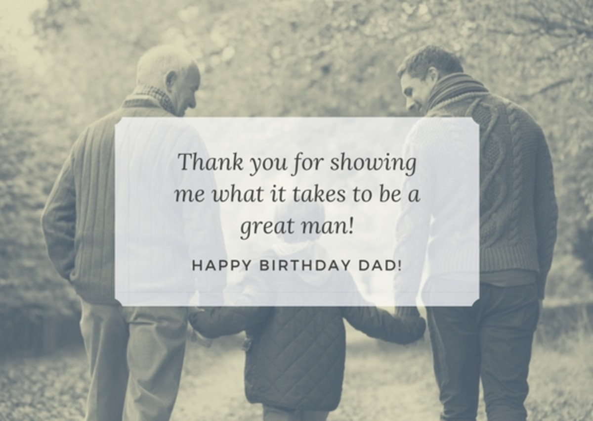 If your father's faith is a big part of his life, incorporating a verse or religious message into his birthday card can be a great way to remind him of his significance.