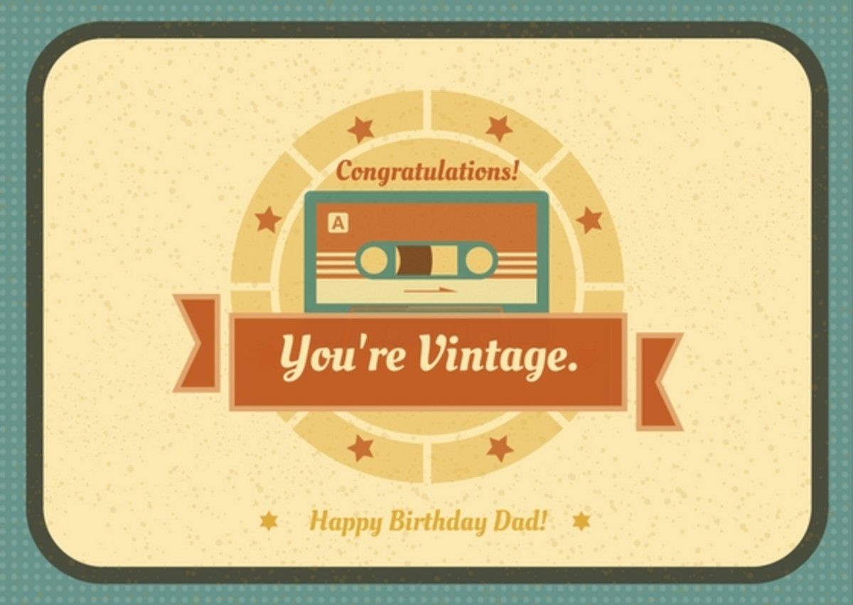Using humor in your birthday message can be a great way to express your joy on your dad's big day.