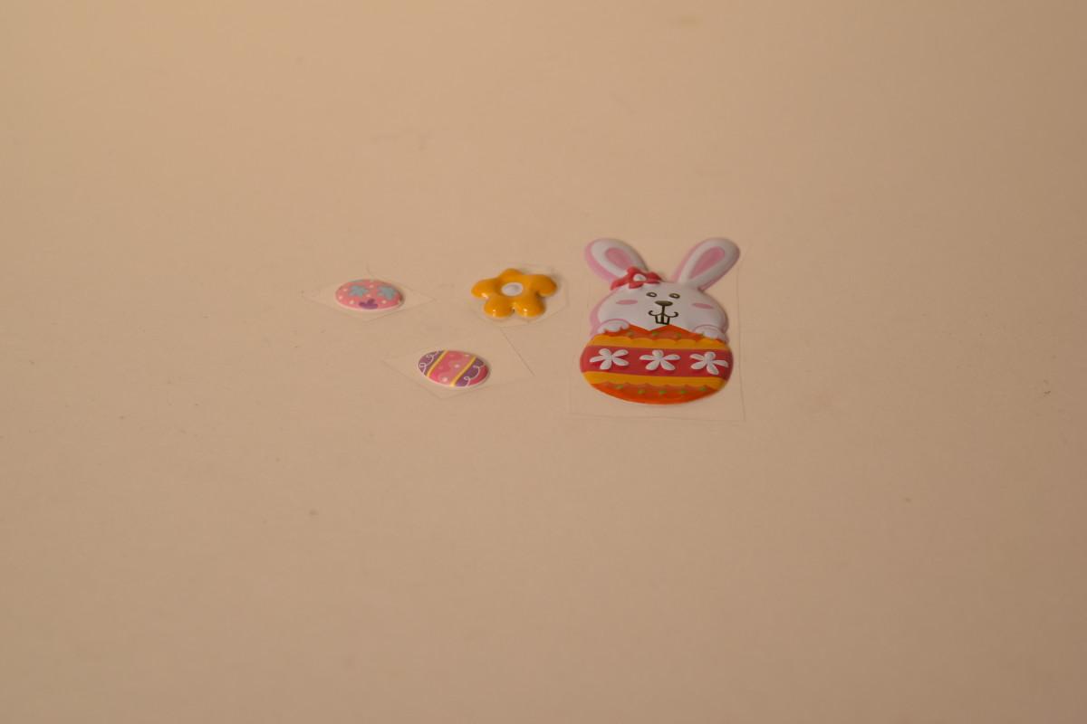 The chosen stickers