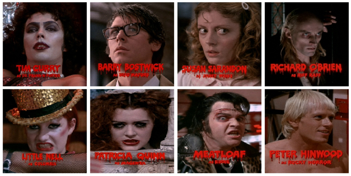 The main cast of the film.