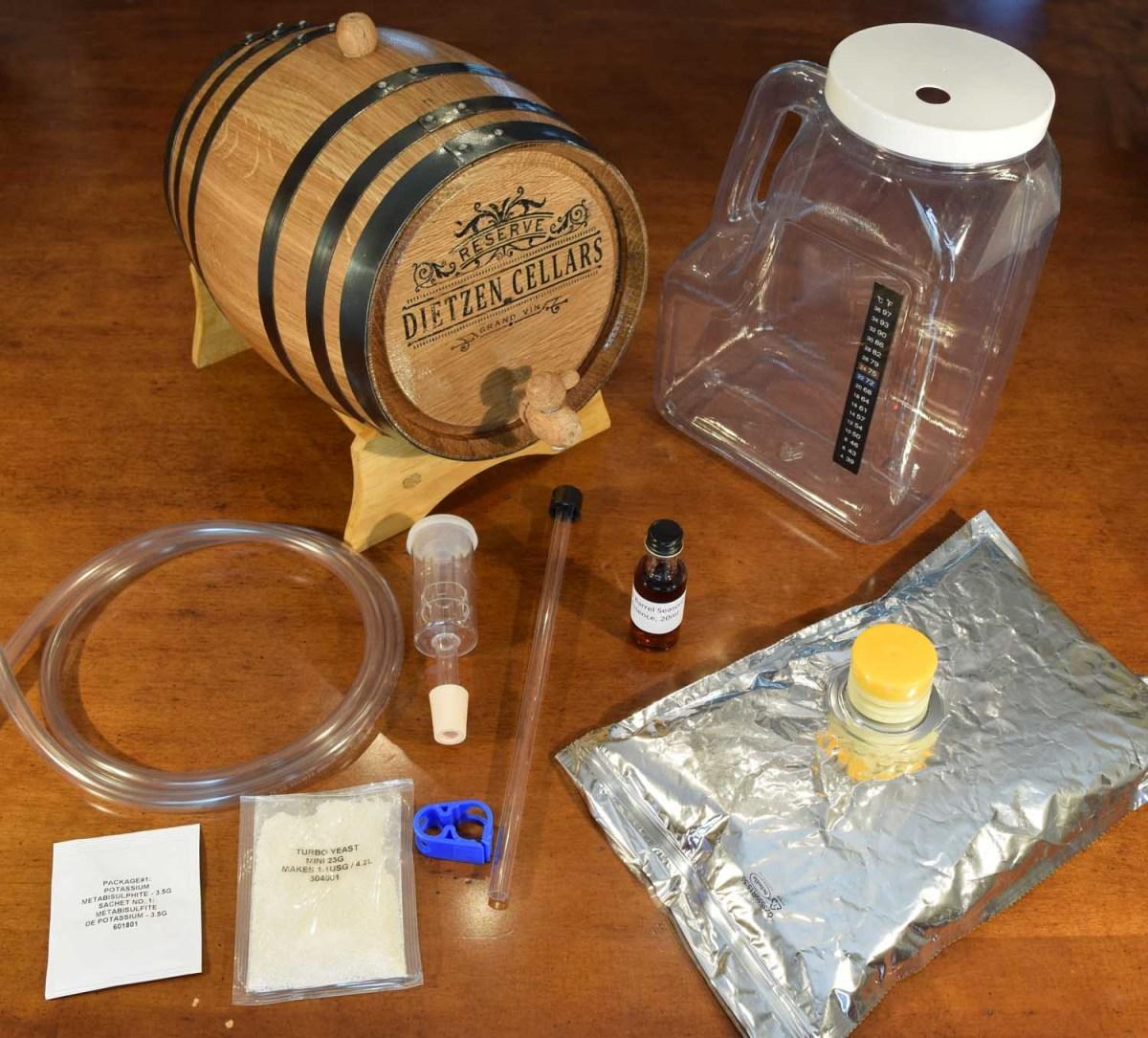 Wine-making kit