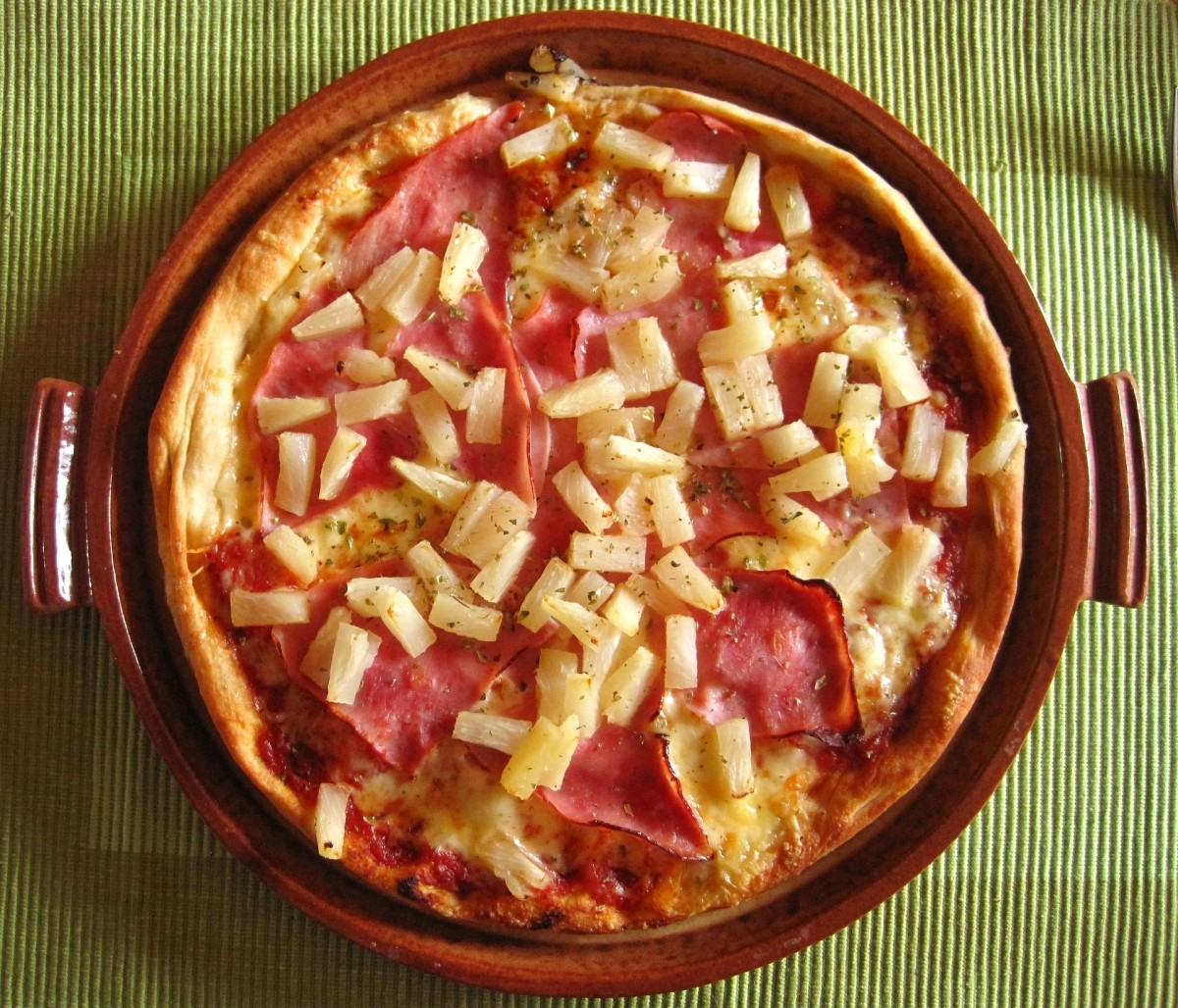The only thing Hawaiian about a Hawaiian pizza is the pineapple on top. The ham and pineapple pizza was actually invented by a Canadian!