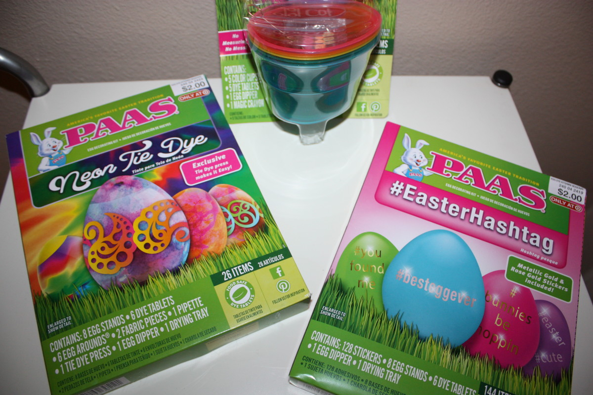 My Easter-Egg Dyeing Tools