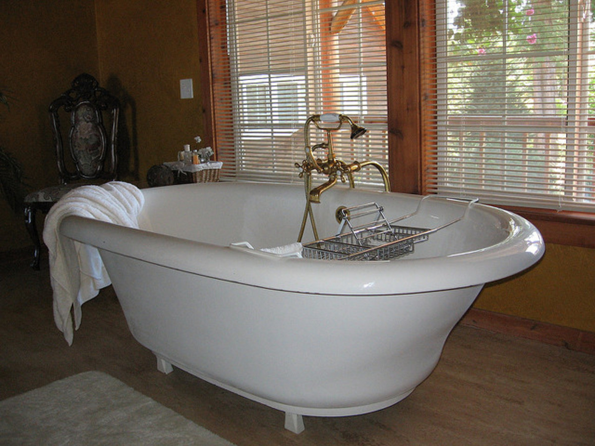 Ahh . . . a Nice, Relaxing Soak!
