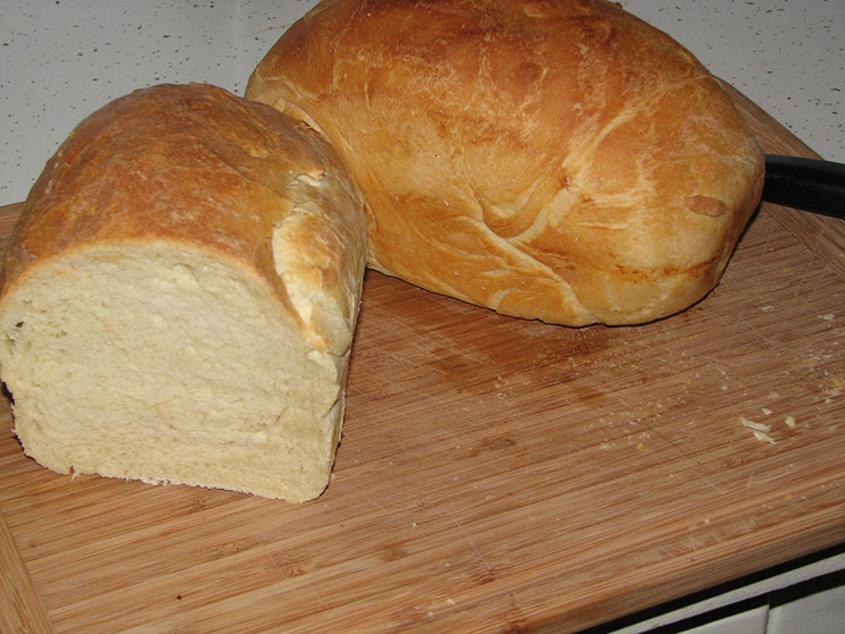Homemade Bread Is SO Good!