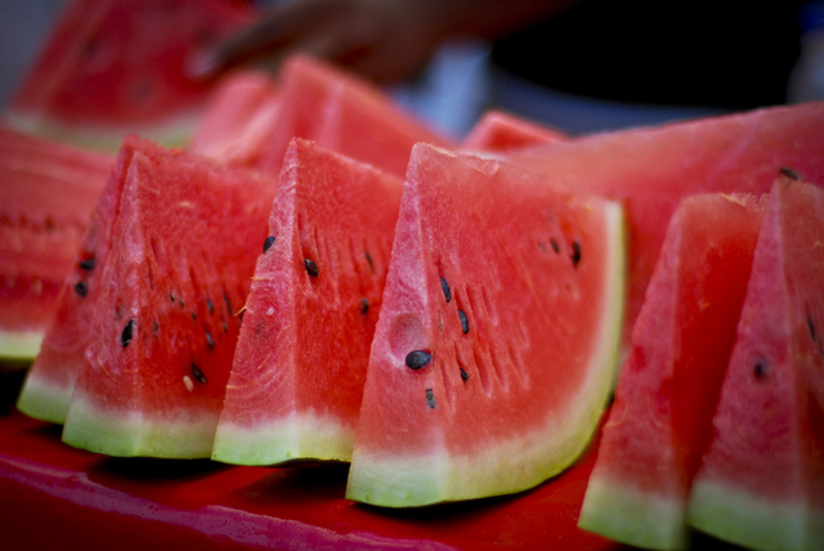 Watermelons Are for Picnics