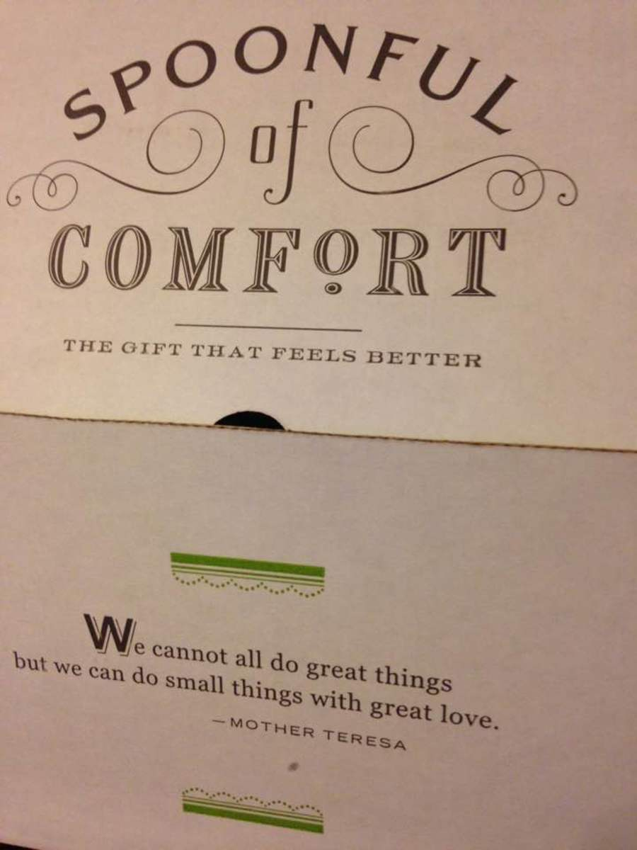My Experience With Spoonful of Comfort's Lovely Gift Box