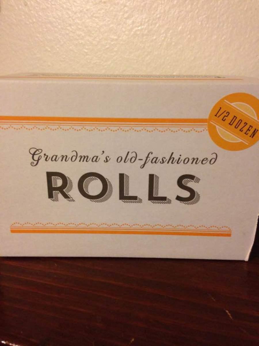 1/2 dozen homemade rolls