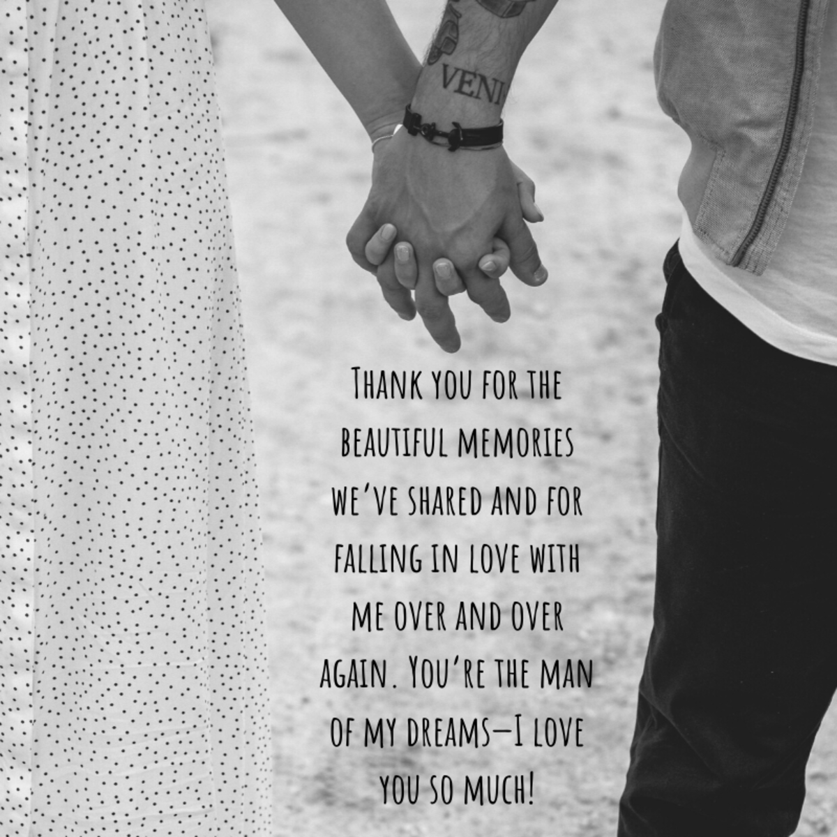 An anniversary card is an opportunity to let your husband know how important he is to you.