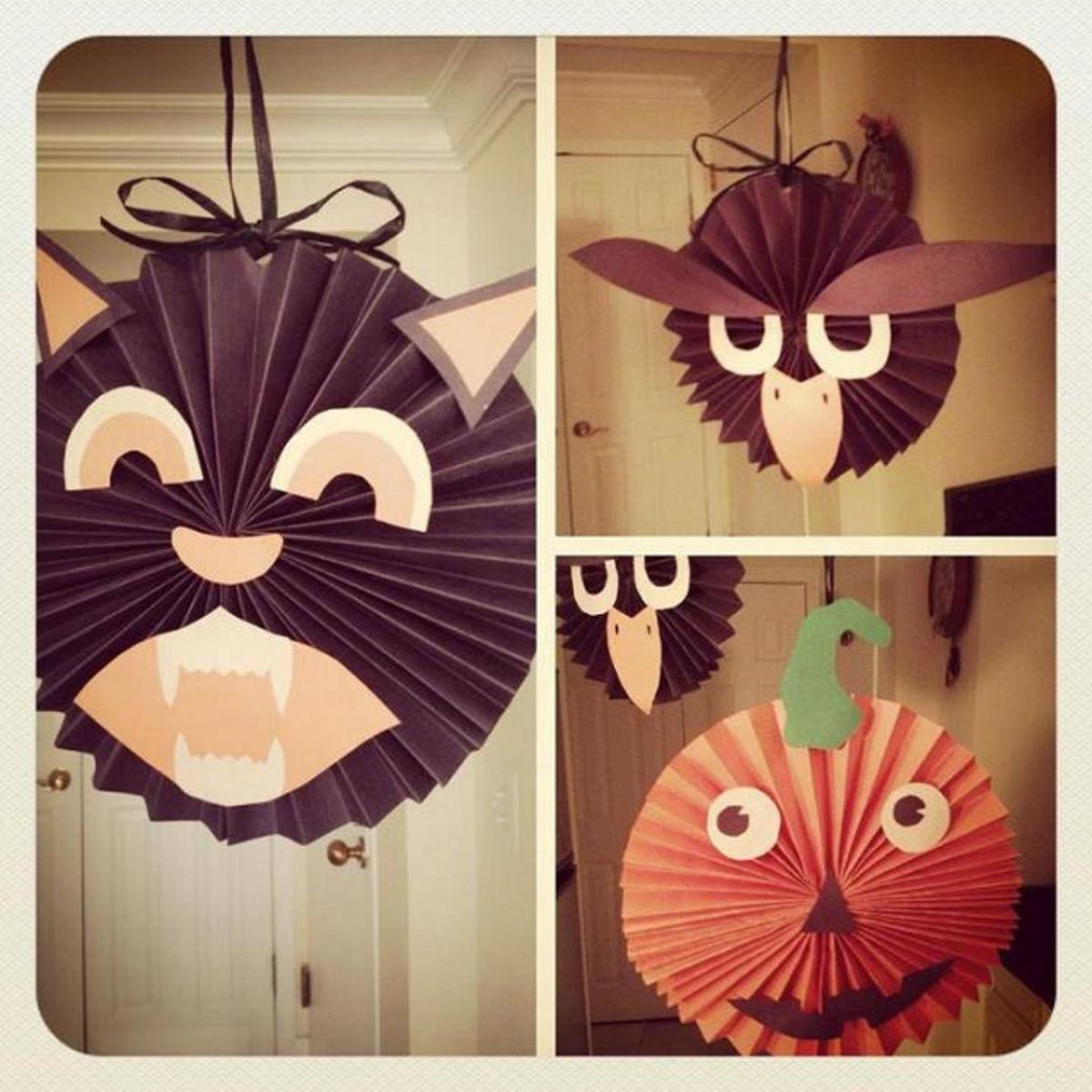 A fold here, a fold there, ta-da pumpkin!