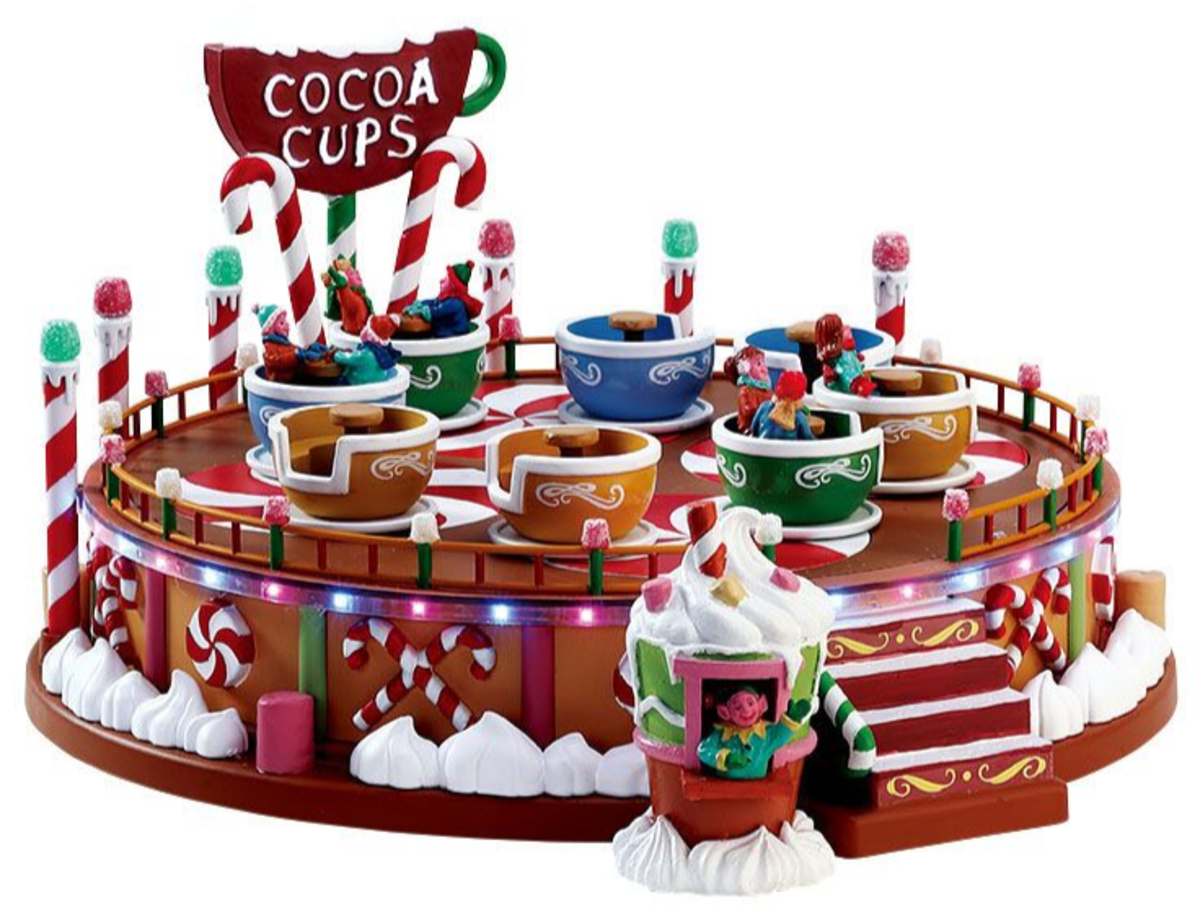 Cocoa Cups from the Sugar N Spice Collection.