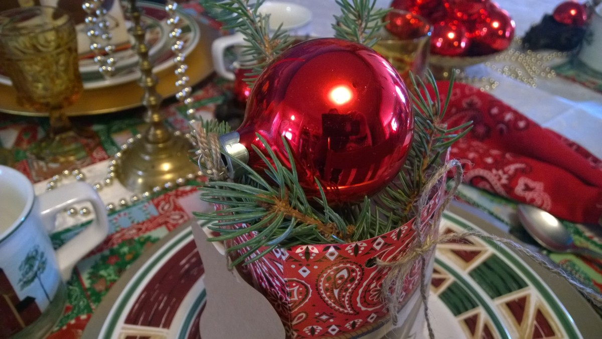 Save money by creating cool holiday decor from things you already have around the house.