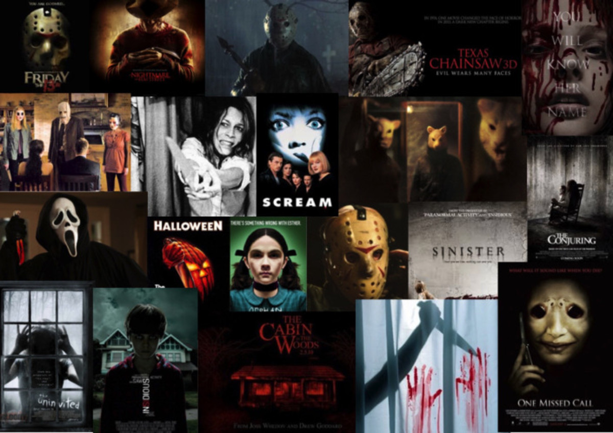 The Halloween season can't be complete without some scary movies.