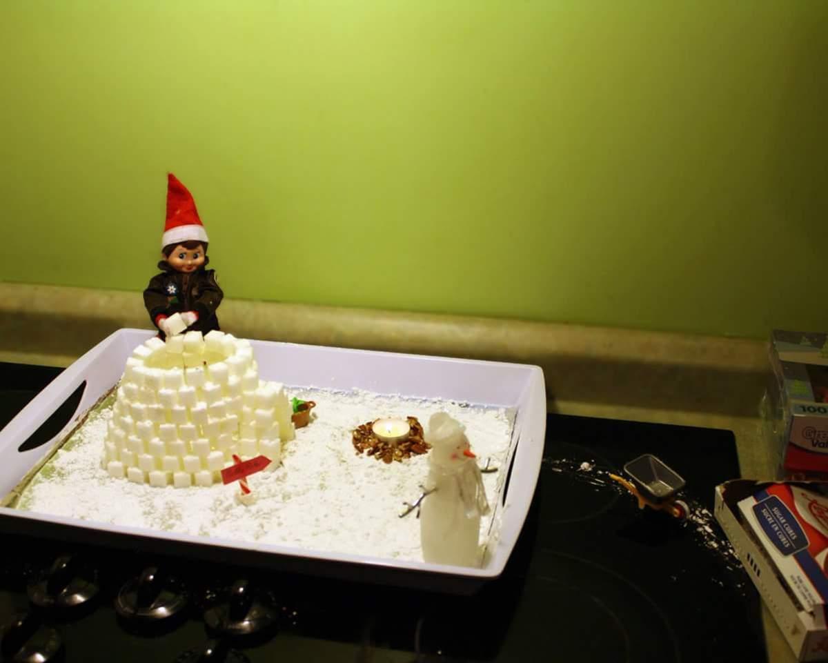 The Sugar-Cube Igloo