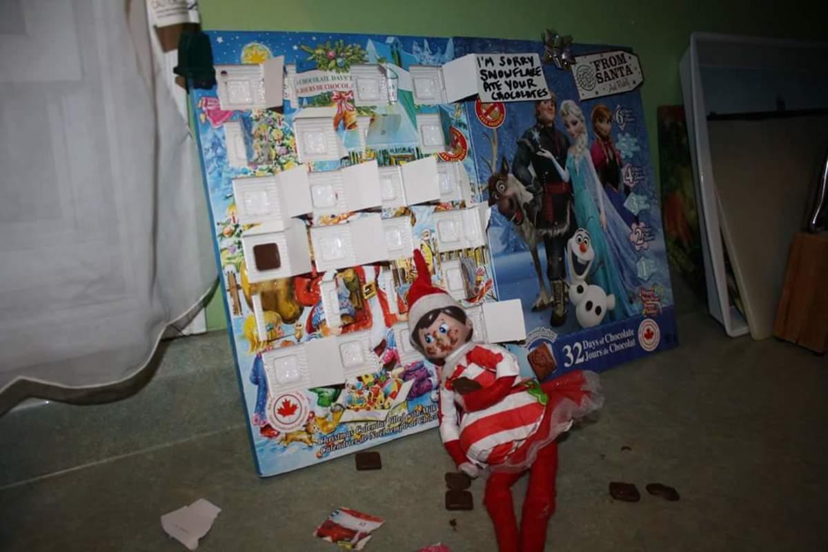 Advent Calendar Thief