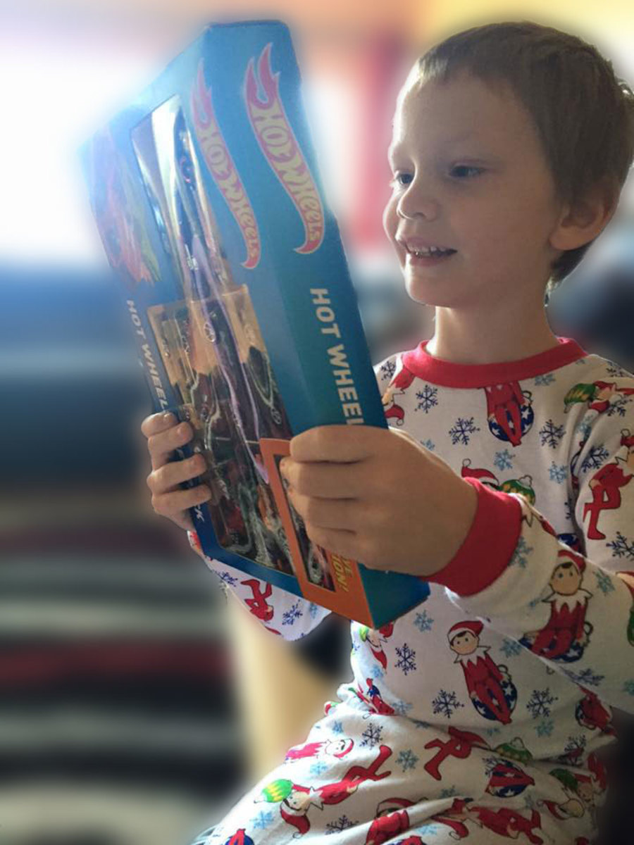A gift that brought a smile to a boy with autism