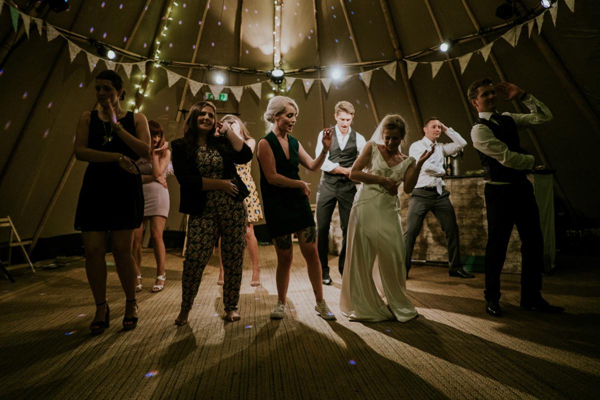 """Group dance to Bleachers' """"Let's Get Married"""" allllllllll night long."""