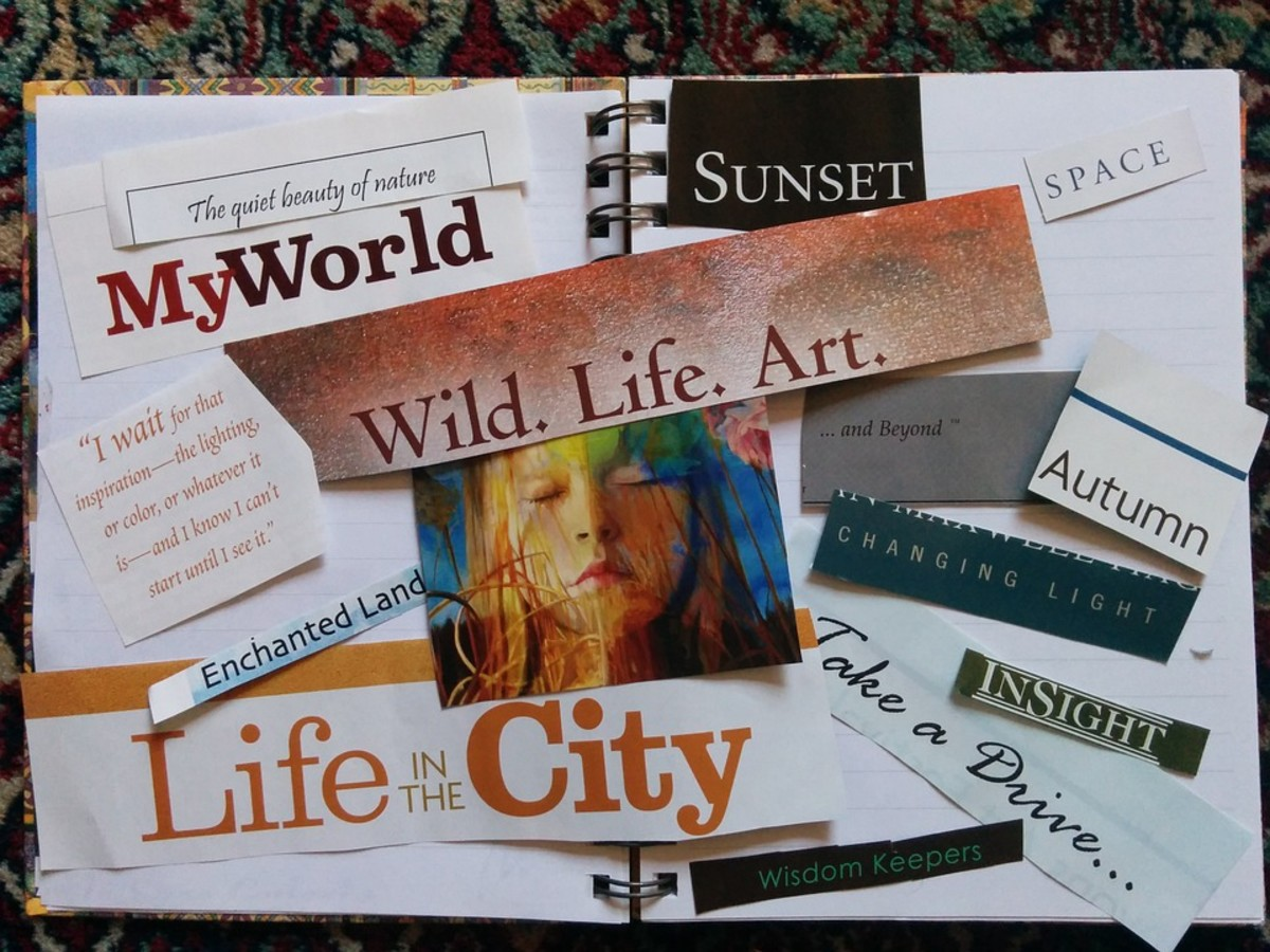 The new year is coming, and it's time to start making plans. A vision board showing what you find inspirational will do that.
