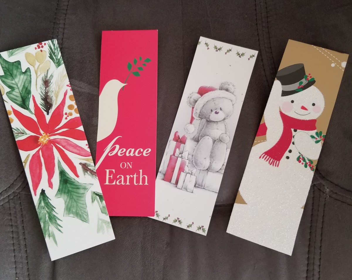 I suggested this to my public library and they received bags and bags of cards from library users. Volunteers turned them into bookmarks. These were stacked by the checkout desk for people to take.