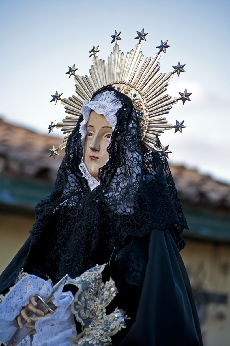 Santa Maria, Mother of Jesus, La Dolorosa
