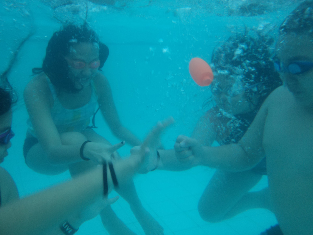 International Underwater Rock-Paper-Scissors Day anyone?