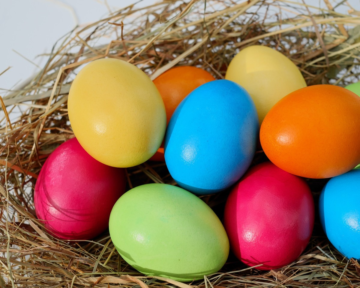 Not all plastic eggs need to be filled with candy.