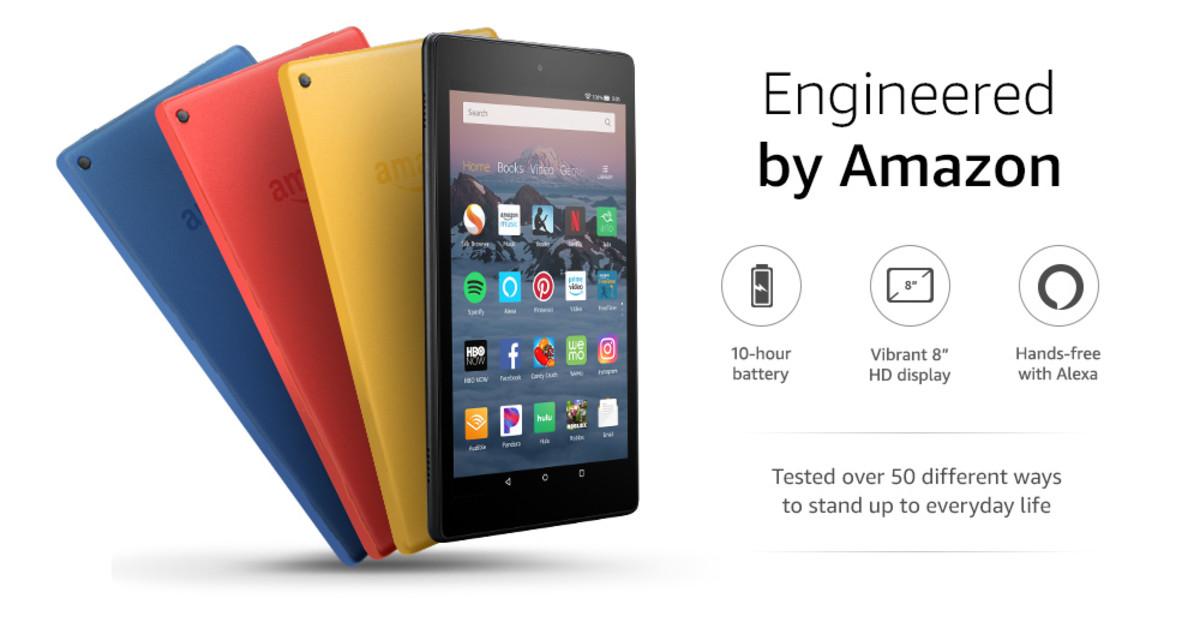 The new Amazon 8 Kindle