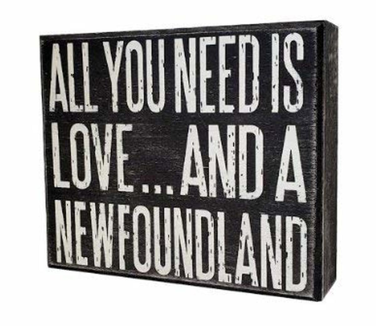 A great gift for any Newfoundland lover!