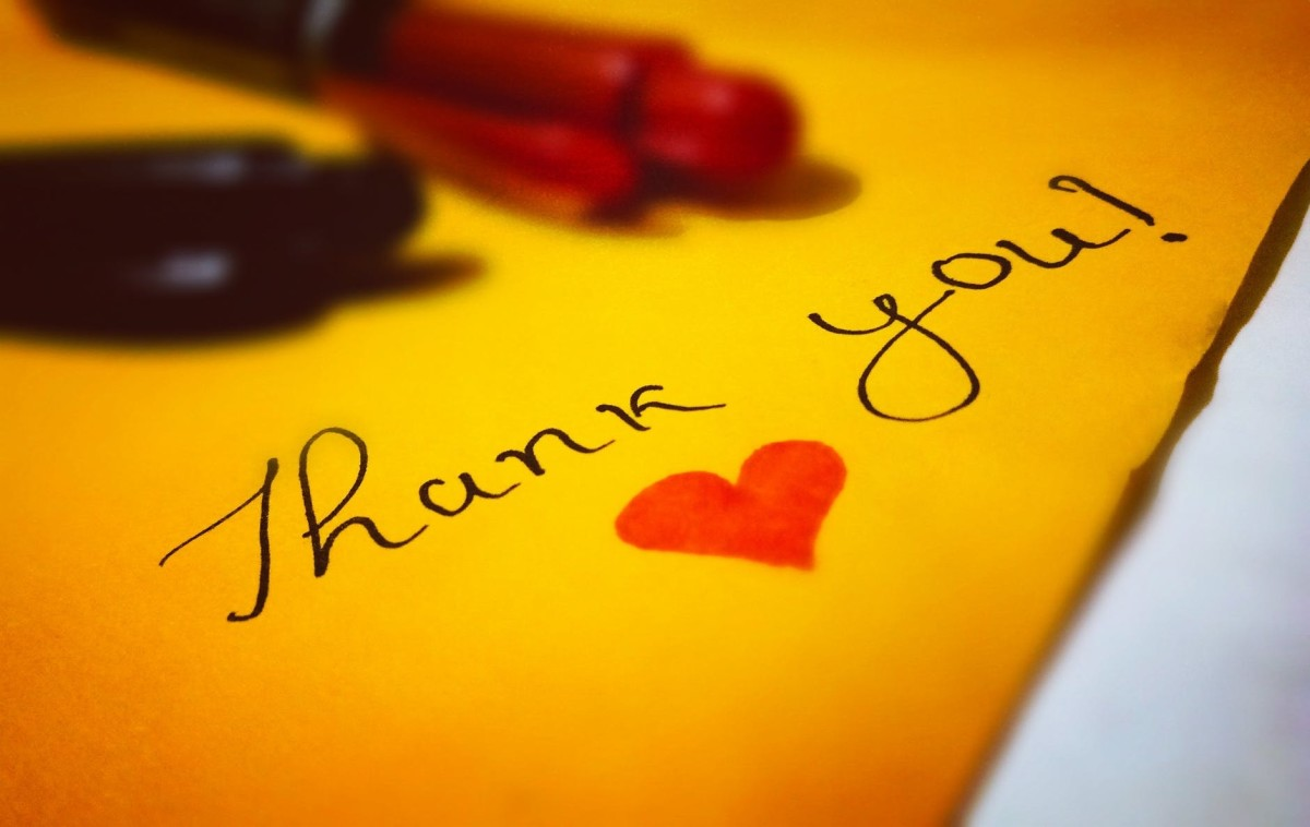 Don't forget to thank your hosts - privately.