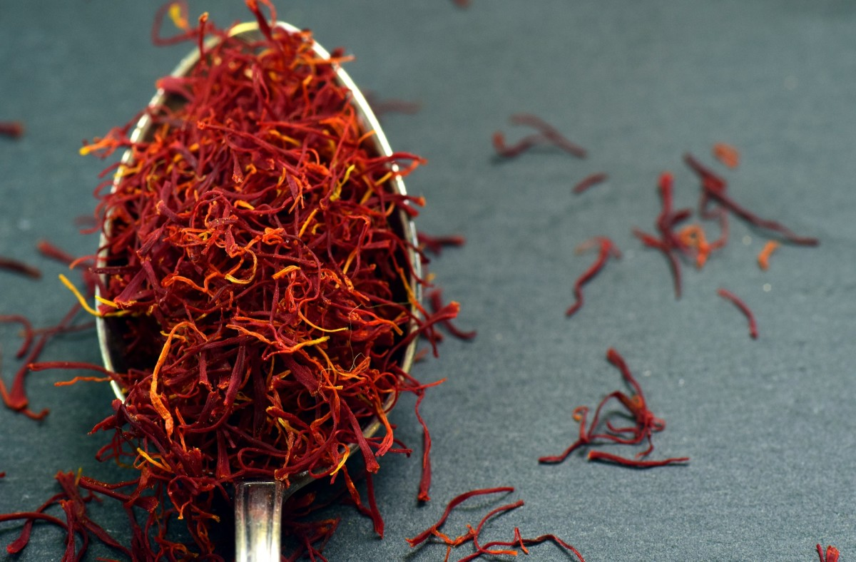 An ounce of saffron is worth more than an ounce of gold. Red gold is the most expensive spice in the world.