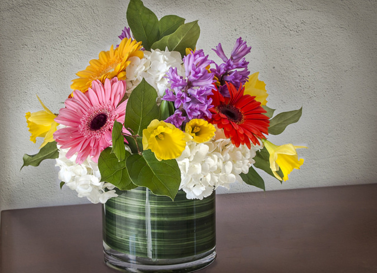 Flowers are another traditional go-to for Mom on her special day--just be sure she's not allergic!