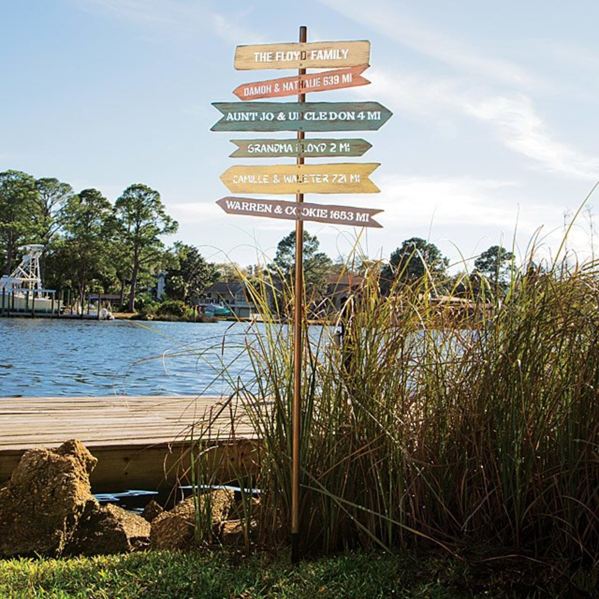 Family Signpost from Uncommongoods.com