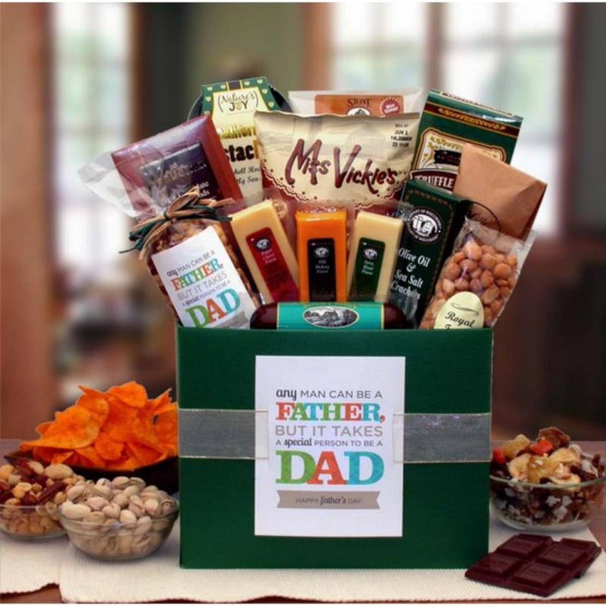 Hayneedle It Takes a Special Man to be a Dad Gif Basket