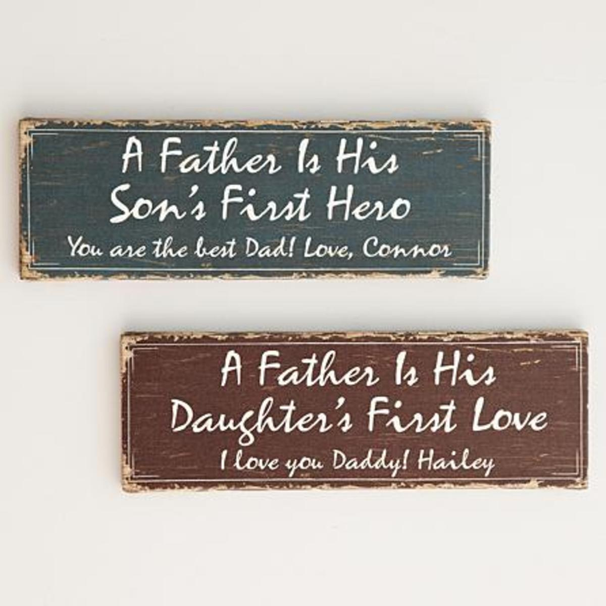 Memories Canvases for Father's Day
