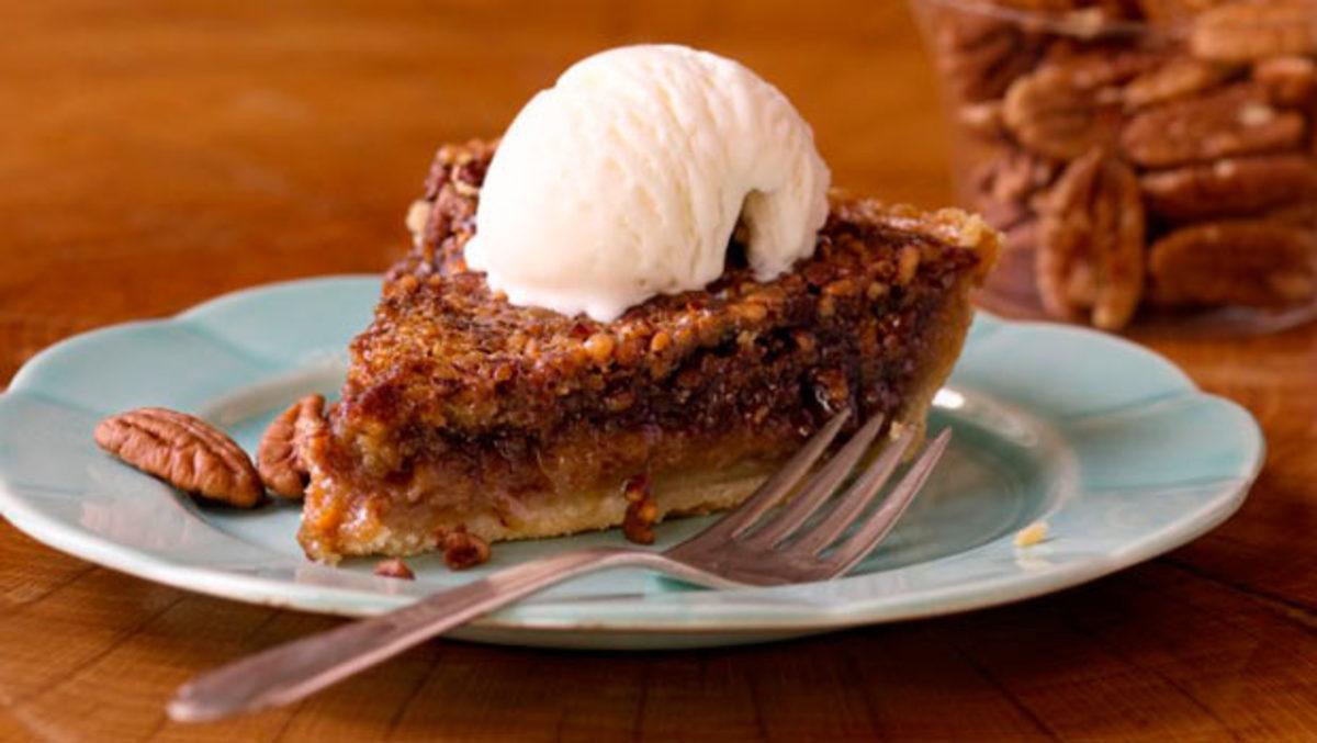 Maple Bourbon Pecan Pie