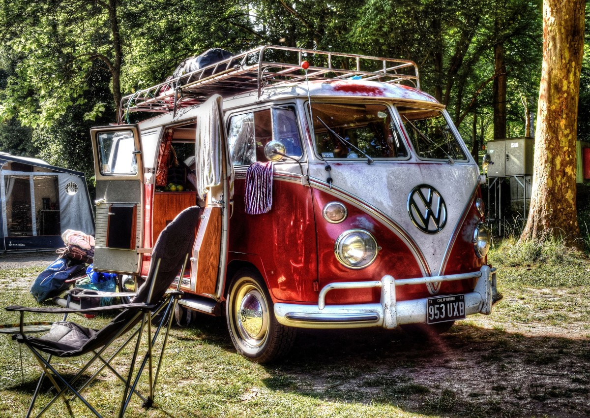 Yes, it's not a tent but I've always loved VW camper vans!