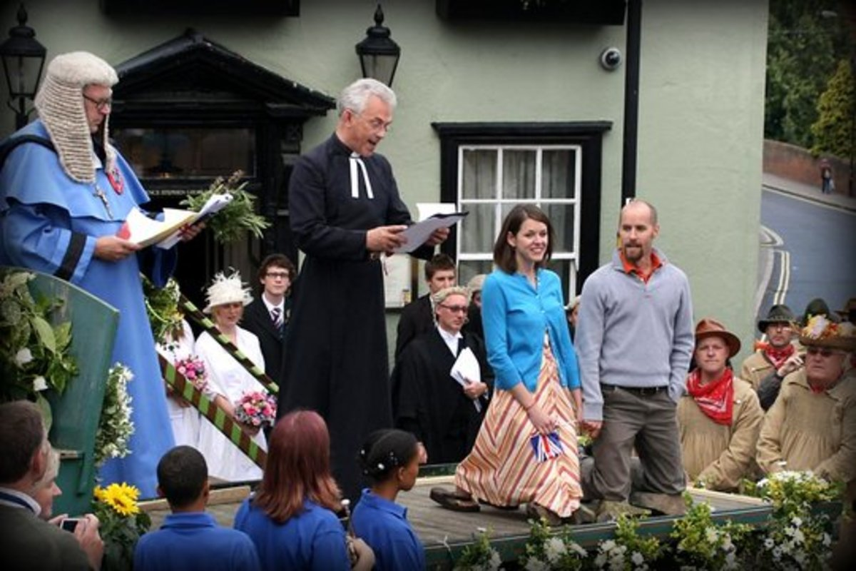 The Flitch Trials on July 19 in Great Dunmow, England