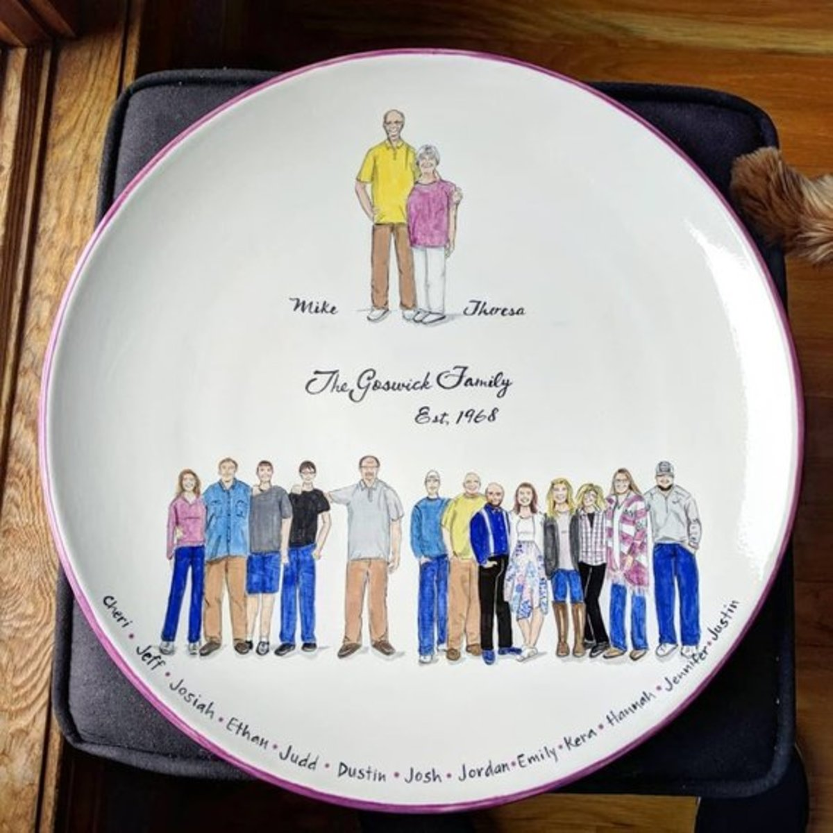 Family Keepsake- Personalised custom gift